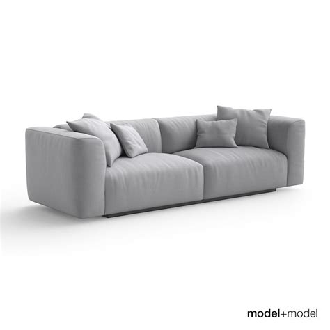 couch mate mdf italia mate sofa armchair 3d max