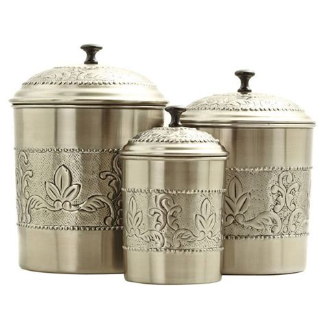elegant kitchen canisters elegant gold dutch victorian canister set jars containers