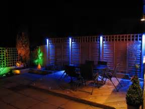 Led Patio Lights Led Garden Lights