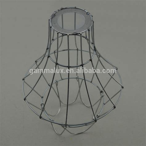 wire cage l shade different style colourful bulb guard wire l shade