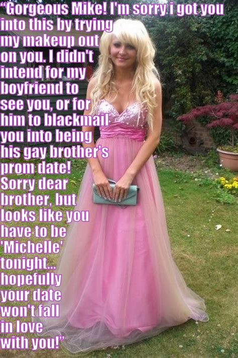 forced crossdressing for prom captions 17 best images about feminization on pinterest sissy