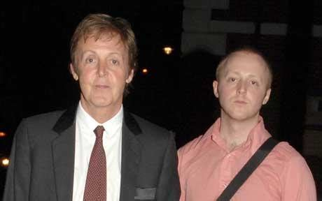 sir paul mccartney's son james begins first tour with