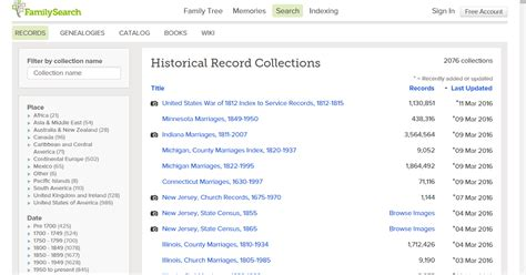 Indiana Records Familysearch Genea Musings New Or Updated Record Collections At