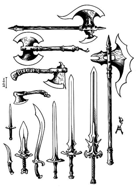 Armas na Idade Média | RexImperii