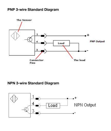 pnp circuit diagram image gallery npn and pnp sensor