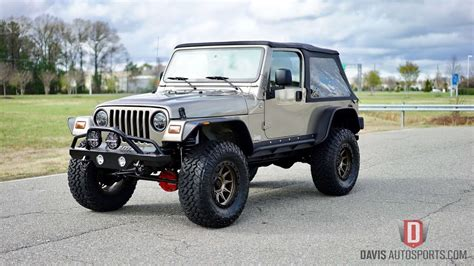 lj jeep lifted davis autosports jeep wrangler lj lifted and built for