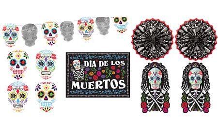 day of the dead bedroom day of the dead decorations supplies day of the dead skulls party city