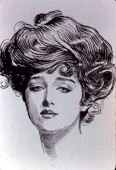 1890s gibson girl hairstyle gibson girl by charles dana gibson 1890s elyse snow