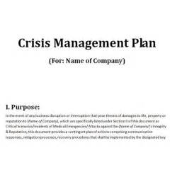 school crisis management plan template free downloadable template a plan for crisis management