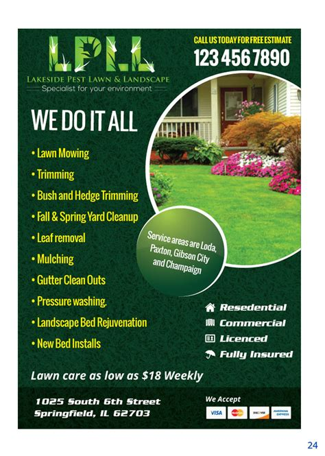 have a lawncare business we have 5 easy tips to promote and