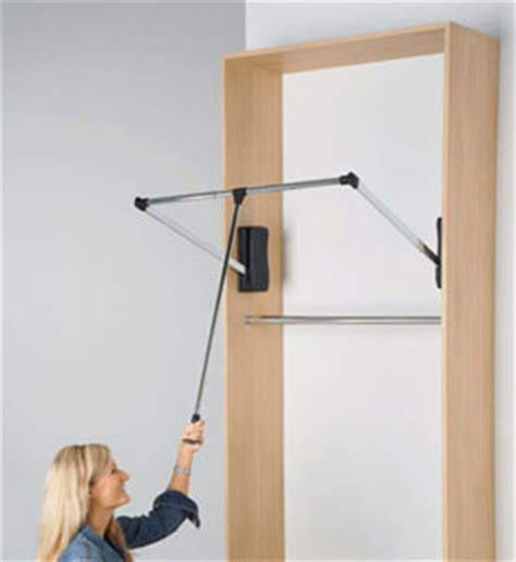pull closet rod extension handle 48 inch in closet