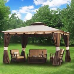 Patio Canopy Gazebo 10 X 12 by 10 X 12 Hampton Gazebo Gorgeous Outdoor Patio Canopy W