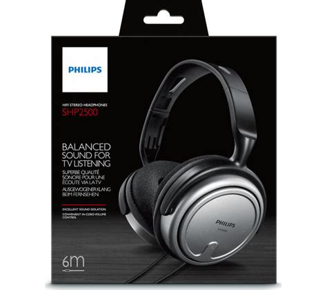 Headset Philips Shp2500 buy philips shp2500 headphones black free delivery