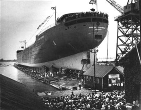 the edmund fitzgerald, about the ship