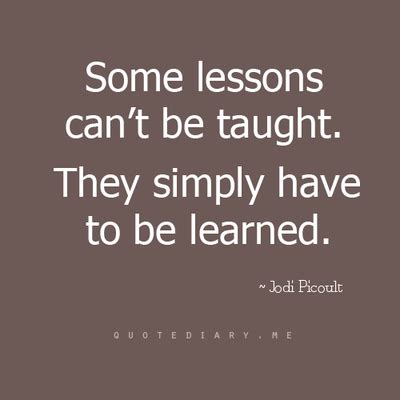 lessons quotes learnt quotes quotesgram