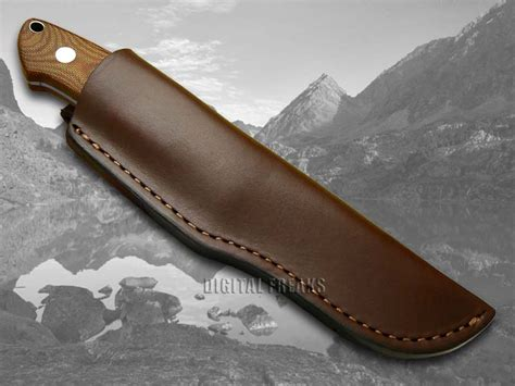 boker tree boker tree brand brown micarta bob dozier fixed blade