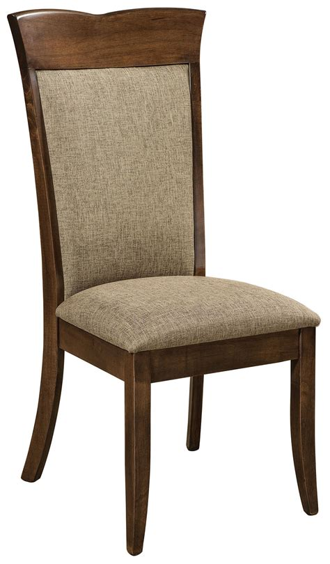 dining room chairs upholstered santa fe upholstered dining room chair from dutchcrafters