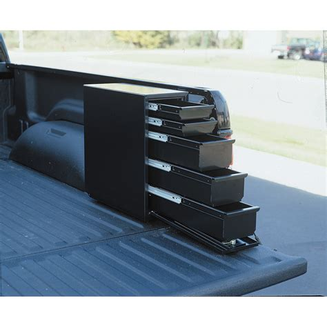 slide out truck bed tool boxes truck bed side tool box nikki s cer exterior storage