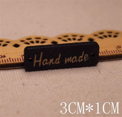 Kancing Kayu Handmade small label wood black white craftbymood