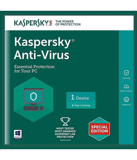 Anti Virus Kepersky kaspersky antivirus version 1 1 dvd buy