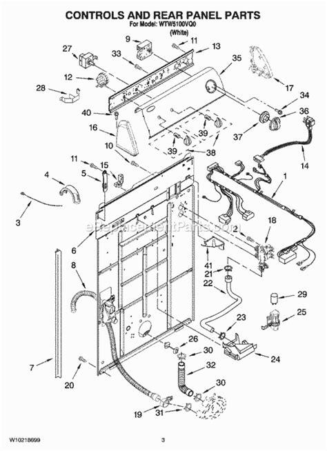 100 wiring diagram of washing machine pdf whirlpool