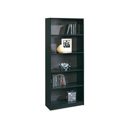 sauder 5 shelf bookcase black walmart