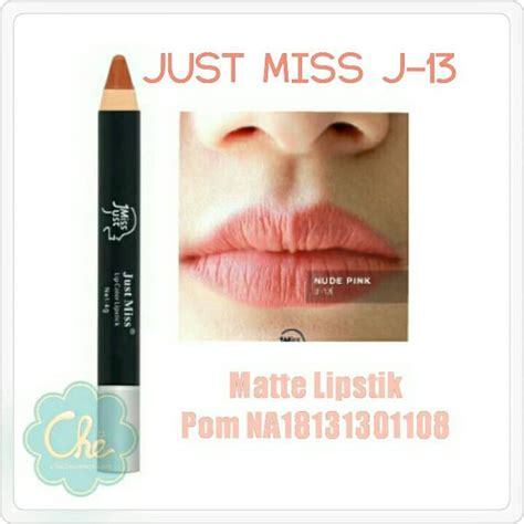 Harga Lipstik Merk Just Miss jual just miss lipstick lipstik serut just miss