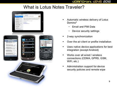 lotus mobile connect dd12 ibm lotus notes traveler and lotus mobile connect