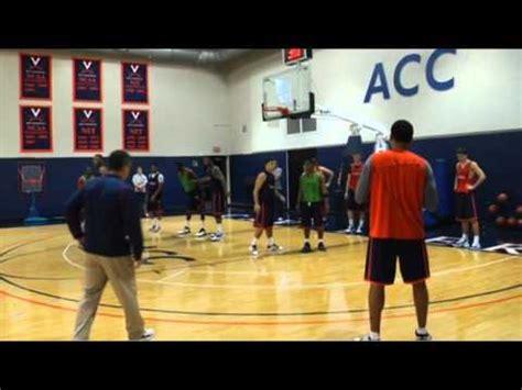 2010 11 virginia men's basketball first practice youtube