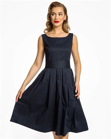 swing dresses midnight blue swing dress vintage swing dresses