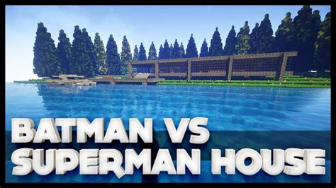 batman house minecraft batman s house from batman vs superman youtube