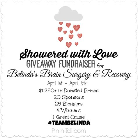 Love Giveaway - showered with love giveaway ends april 15 2014 embracing creativity
