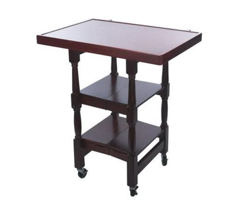 kitchen island with spindle legs folding island kitchen cart w decorative spindle legs page 1 qvc