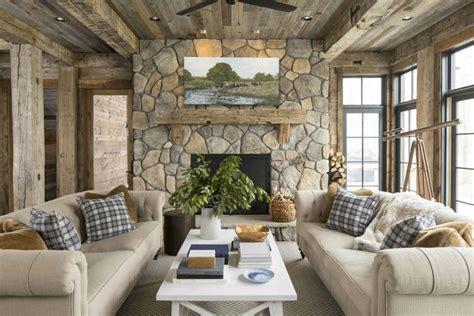 rustic lake house design luck wi martha ohara interiors