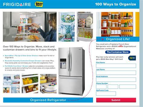 Refrigerator Sweepstakes - frigidaire quot gallery french door refrigerator quot sweepstakes