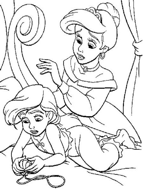 coloring page baby ariel ariel entertaining son coloring pages coloring pages