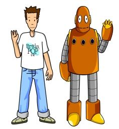 tim and moby say hi!   explore brainpop_uk's photos on