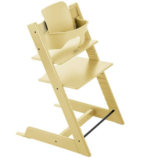 tripp trapp chair used stokke tripp trapp high chair baby set wheat yellow