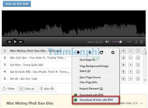 song mp3 zing how to the whole list songs in the charts on zing mp3