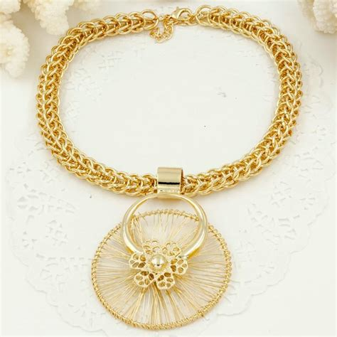 italy fashion costume jewellery african women big necklace bracelet rings earrings set dubai