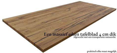 massief eiken tafelblad op maat oud eiken tafelbladen 100 handwerk eikenrijk nl