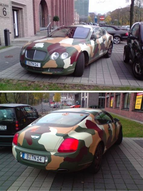 bentley camo lambos to rambos 12 colorfully camouflaged supercars