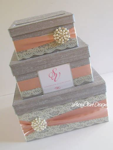 Wedding Gift Box wedding gift box card box money holder custom made