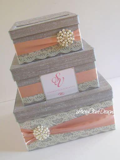 Wedding Gift Box by Wedding Gift Box Card Box Money Holder Custom Made