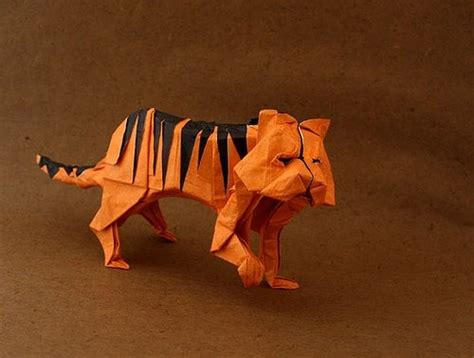 Origami Tiger - origami tiger origami