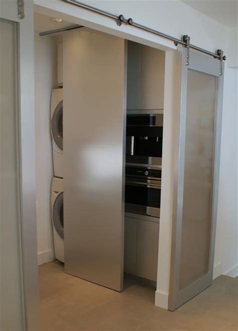 laundry room sliding doors modern dallas ranch home contemporary laundry room dallas by slic design