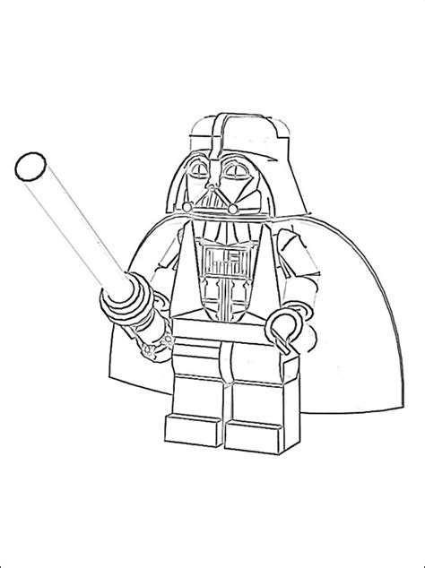 Coloriage A Imprimer Lego Star Wars