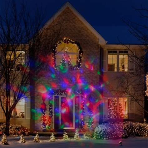 bed bath and beyond christmas lights lightshow light confetti projection