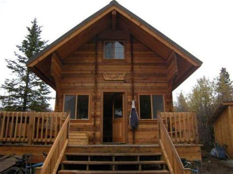 cing at trout lake cabin ak
