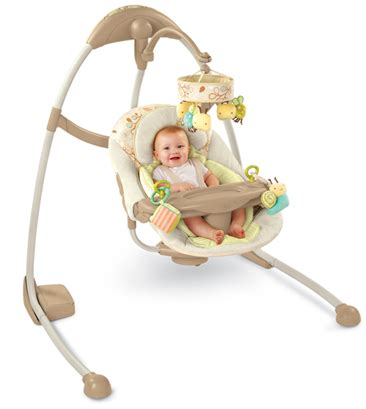 infant cradle swing get a bright starts baby cradle swing for just 80 shipped